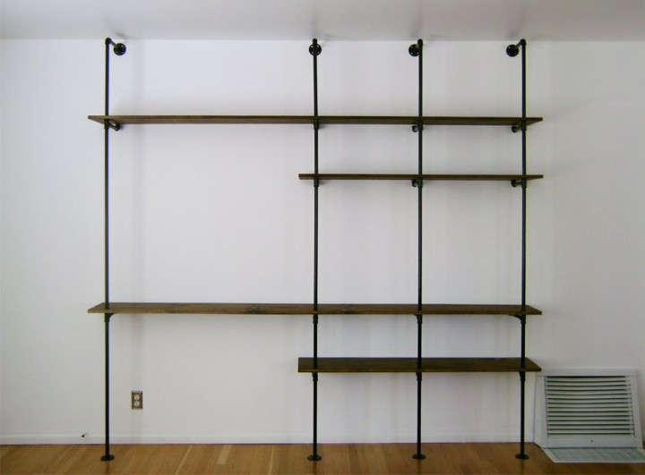 Simple Shelving Unit Plans