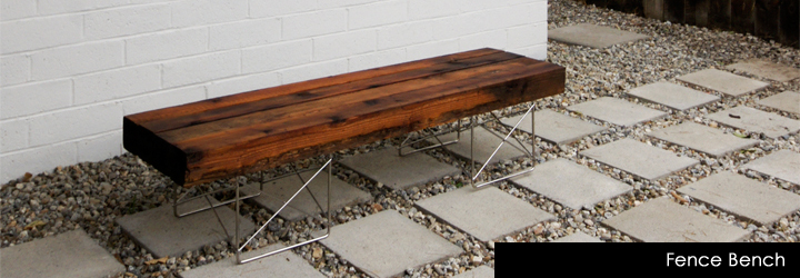 Brick house diy bench