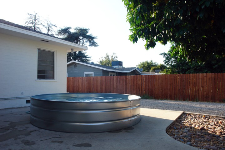 Galvanized water well tanks image search results for Galvanized water trough swimming pool