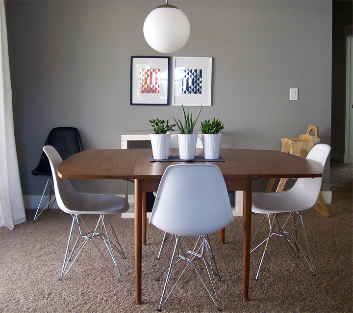 jennifer from a merry mishap emailed recently asking for a little advice to spruce up her newly found vintage dining room table like a lot vintage pieces i - Old Brick Dining Room Sets
