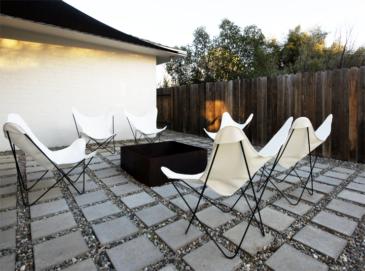 outdoor butterfly chair 2
