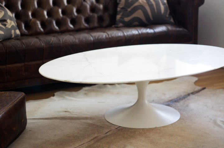Saarinen Coffee Table Marble Oval Marble Coffee Table